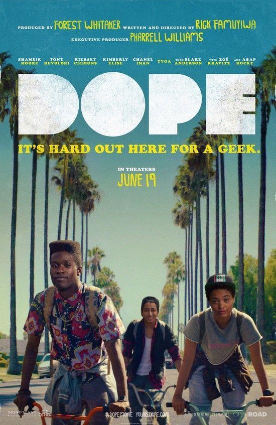 Dope (2015) หนังแนวฮิปสเตอร์ยุค 90