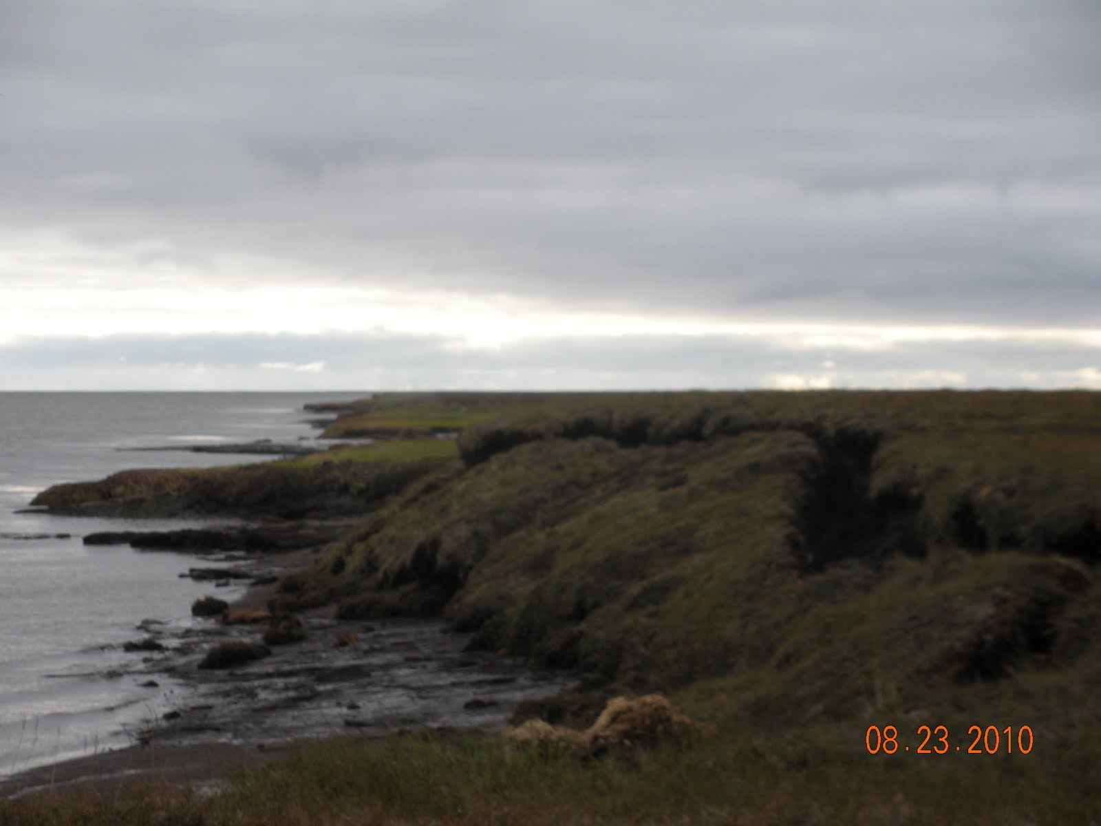 julie u0026 39 s blog  permafrost layer erosion  newtok  alaska