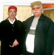 الدكتور الأسعد قريعة و الأستاذ سمير الجنحاني