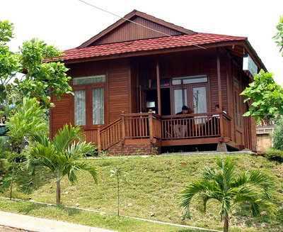 Gambar Rumah Kayu Melayu