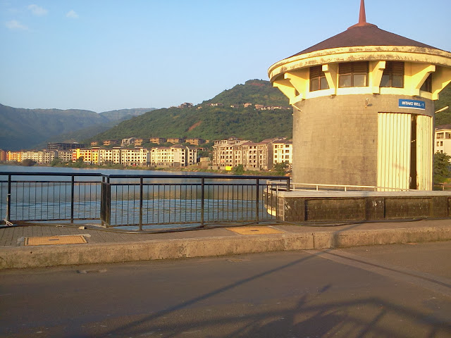 Short bike ride to lavasa city near pune