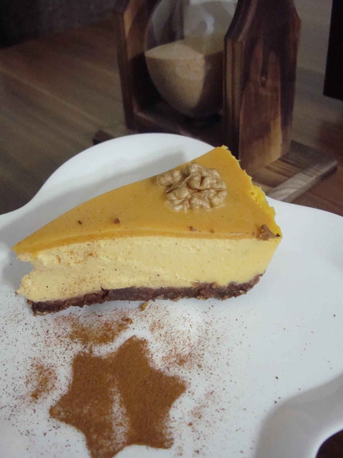 Tahinli balkabaklı kek tarifi