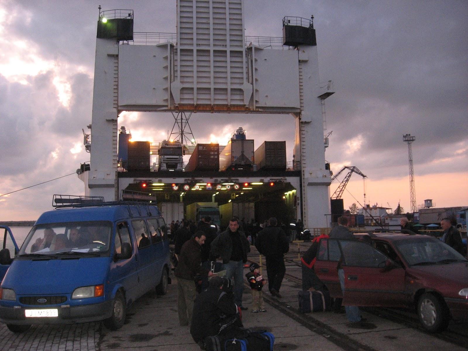 Max Globetrotter Georgia UKR Ferry
