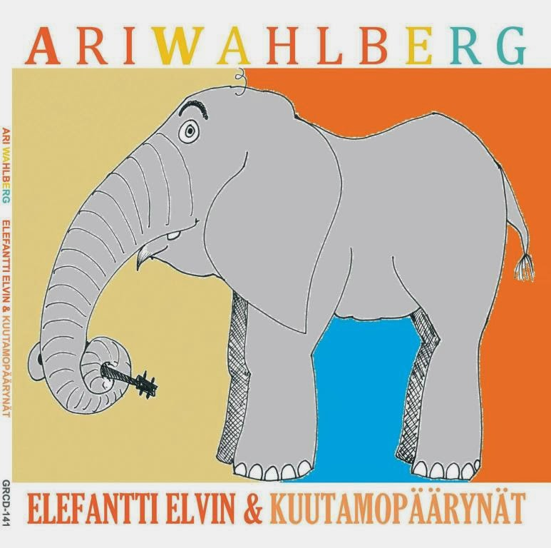 Elefantti Elvin ja kuutamopäärynät CD / Download