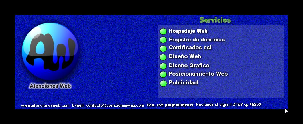 Atenciones Web