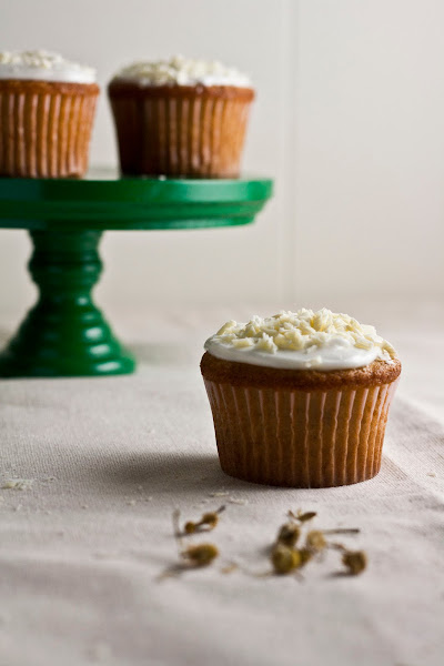 White Chocolate, Honey, and Chamomile Cupcakes ...