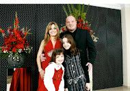 Eu, marido, Bruna e Bella