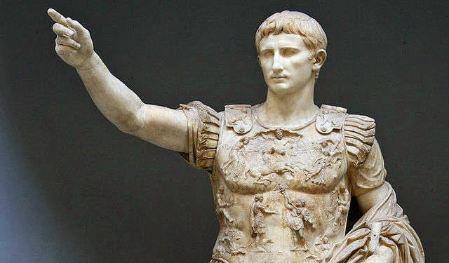 Augustus founder of the Roman Empire and its first Emperor