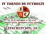 IV Torneo de Futbolin