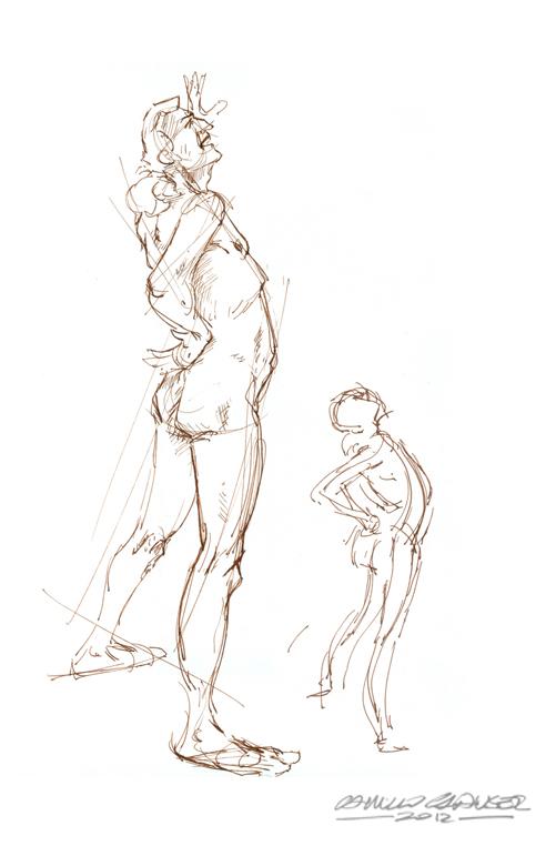 Calarts Character Design Portfolio : Camillo clauser sketch sheridan portfolio