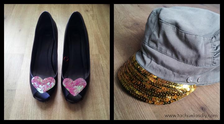 Renueva o customiza tus viejos accesorios,zapatos o gorra o simplemente cambiales el aspecto para estrenar de nuevo si te aburren,fácil y sencillo y barato.