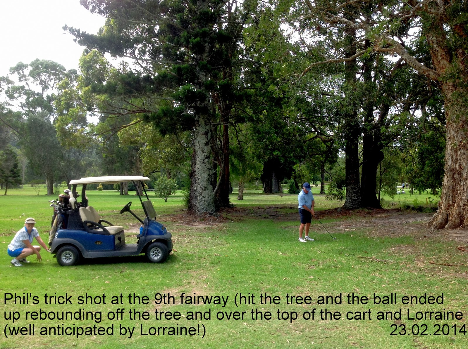 Keno four ball golf