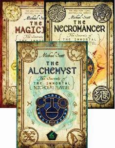 Novel The Secrets of the Immortal Nicholas Flamel