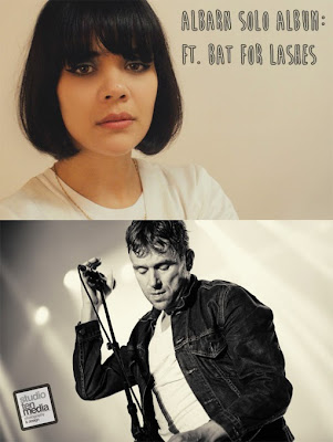 bat for lashes damon albarn, natasha khan bat for lashes interview, damon albarn natasha khan, bat for lashes blur, damon albarn natasha, damon albarn solo album, damon albarn solo lp, new damon albarn