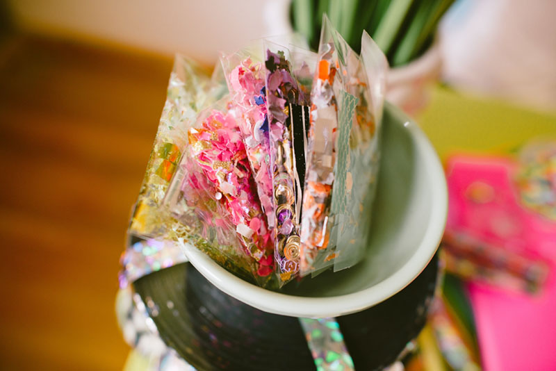 The Confetti Bar; packages