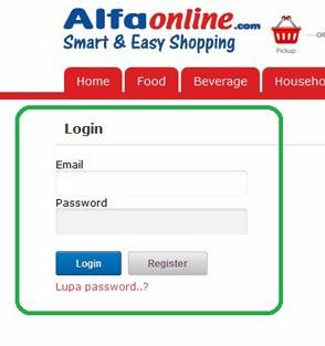 Cara Berbelanja Merchandise di Alfaonline.com