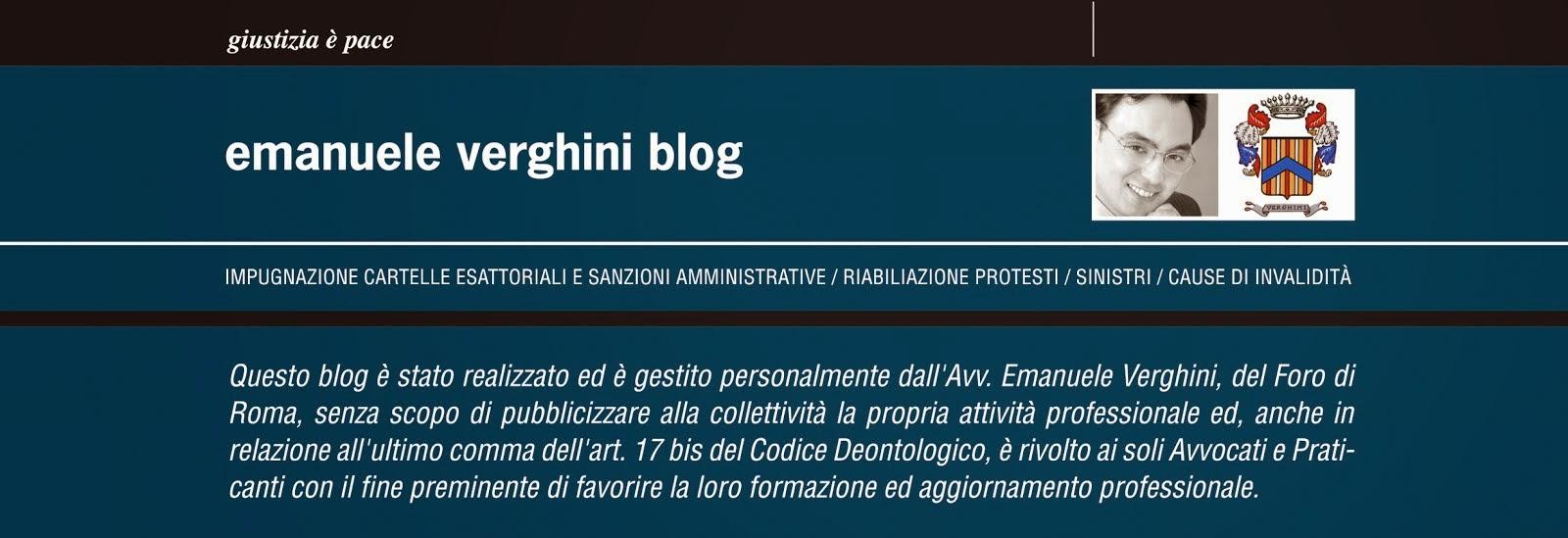 Avv. Emanuele Verghini