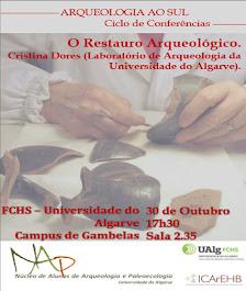 Próxima conferência Arqueologia ao Sul
