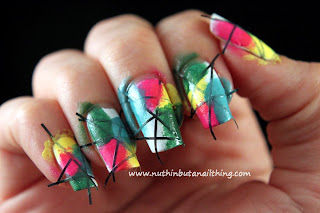 striping tape nail art tutorial