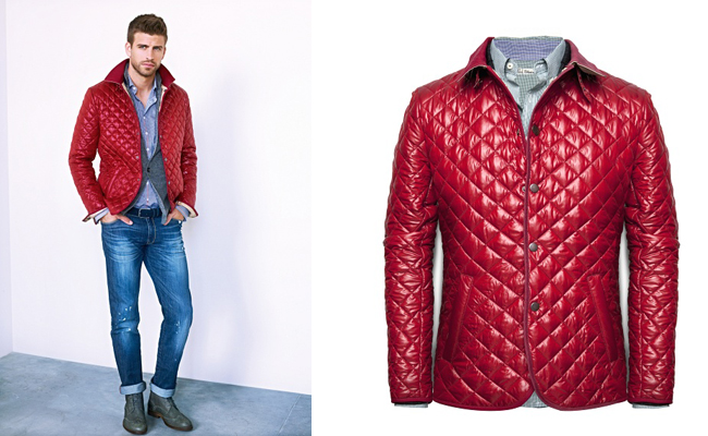    Quilted Jackets Men 