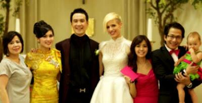 foto pernikahan / married vj daniel mananta dengan bule beredar