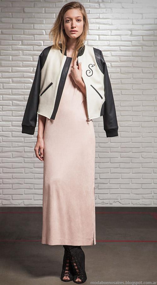 Camperas invierno 2015. Square otoño invierno 2015 moda mujer.