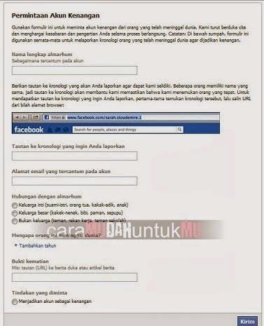 Tips terbaru dari newbikecil tentang cara menghapus akun facebook orang lain secara permanen