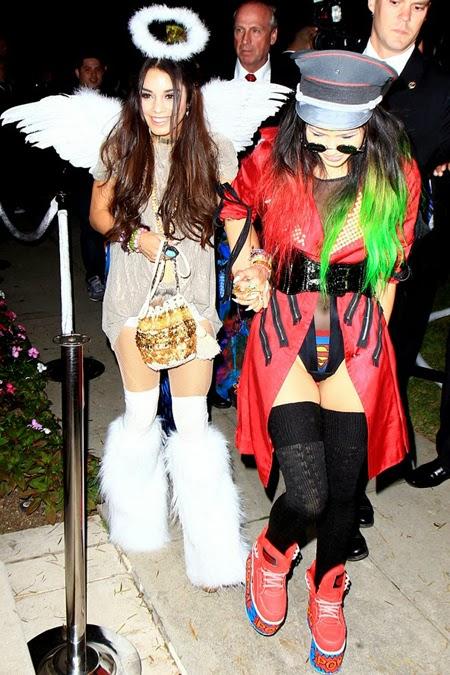Ванеса Хъджънс хелоуински костюм ангел