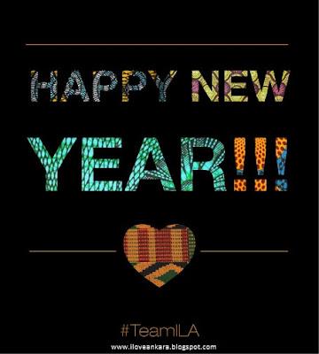 Happy New Year in african print  #2013 - iloveankara.blogspot.com
