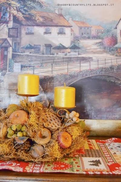 Bacche , Pigne & stecche di Cannella -shabby&countrylife.blogspot.it