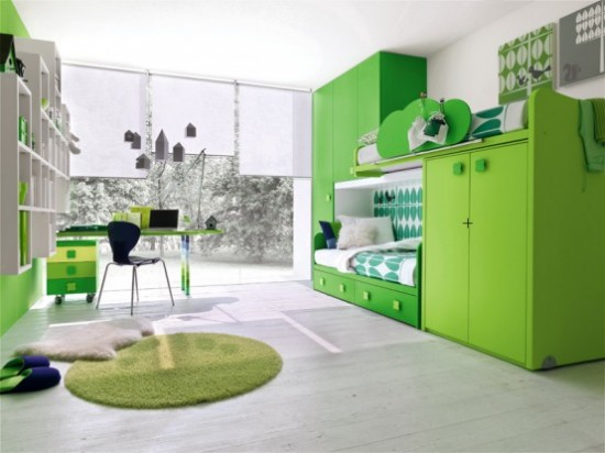 New home design ideas unique interior design green for Green bedroom design