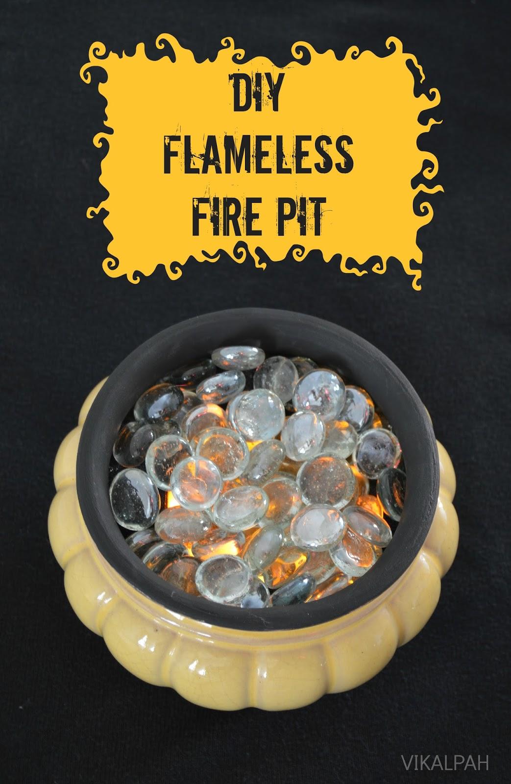 Vikalpah: DIY Flameless Fire Pit