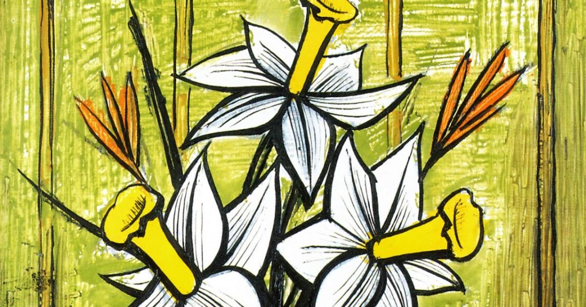 [EXPRESSIONISM] Bernard Buffet's Flowers