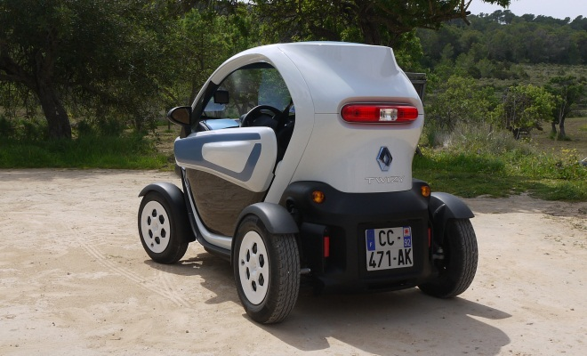 Renault Twizy Colour - rear view