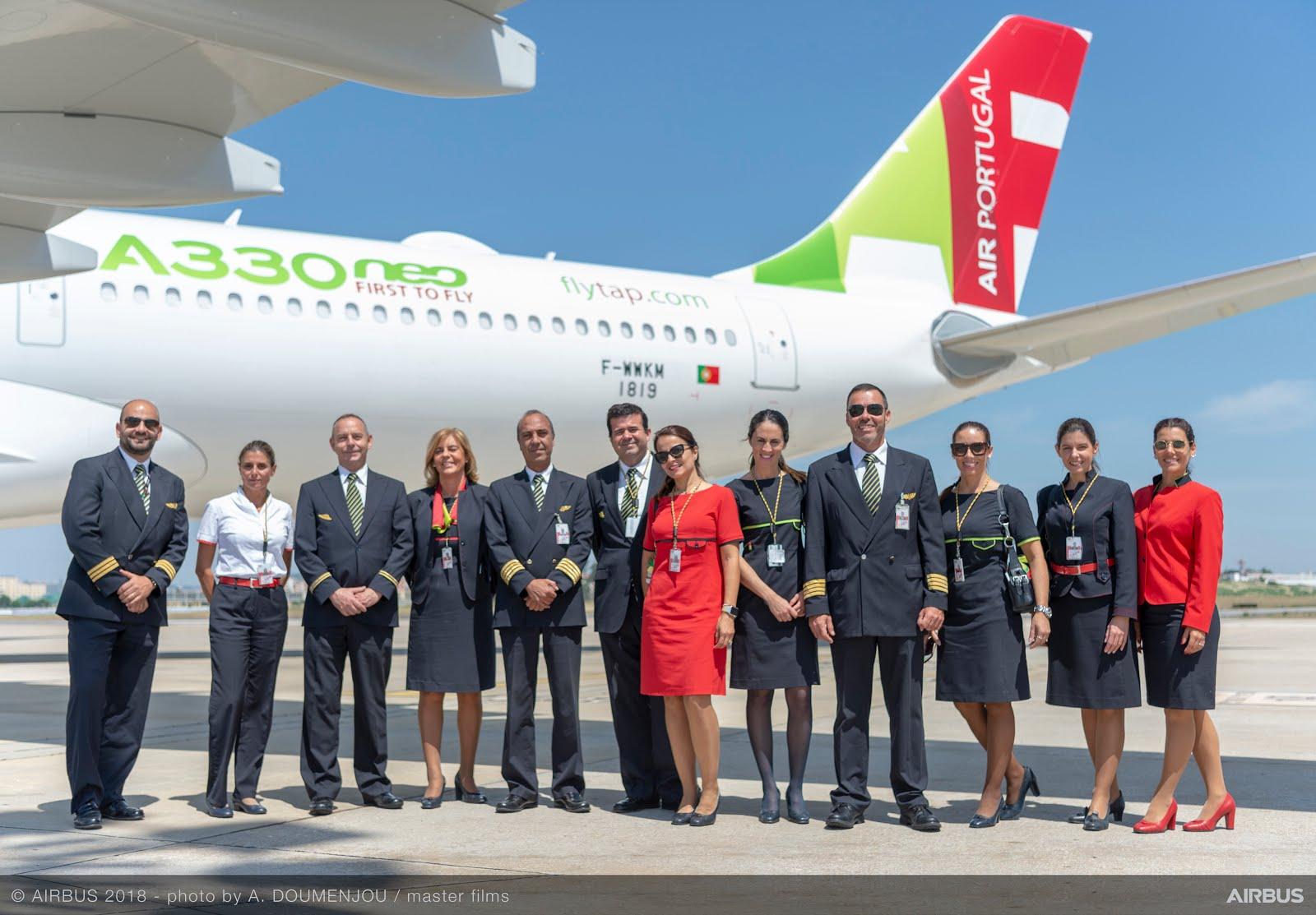 Tour A330neo da tap em Portugal e nas Américas