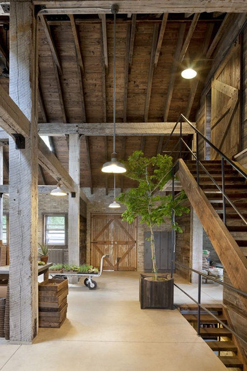 World of architecture 30 rustic chalet interior design ideas for Modern barn home interiors