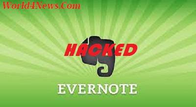 Evernote,Hacked,Evernote Hacked