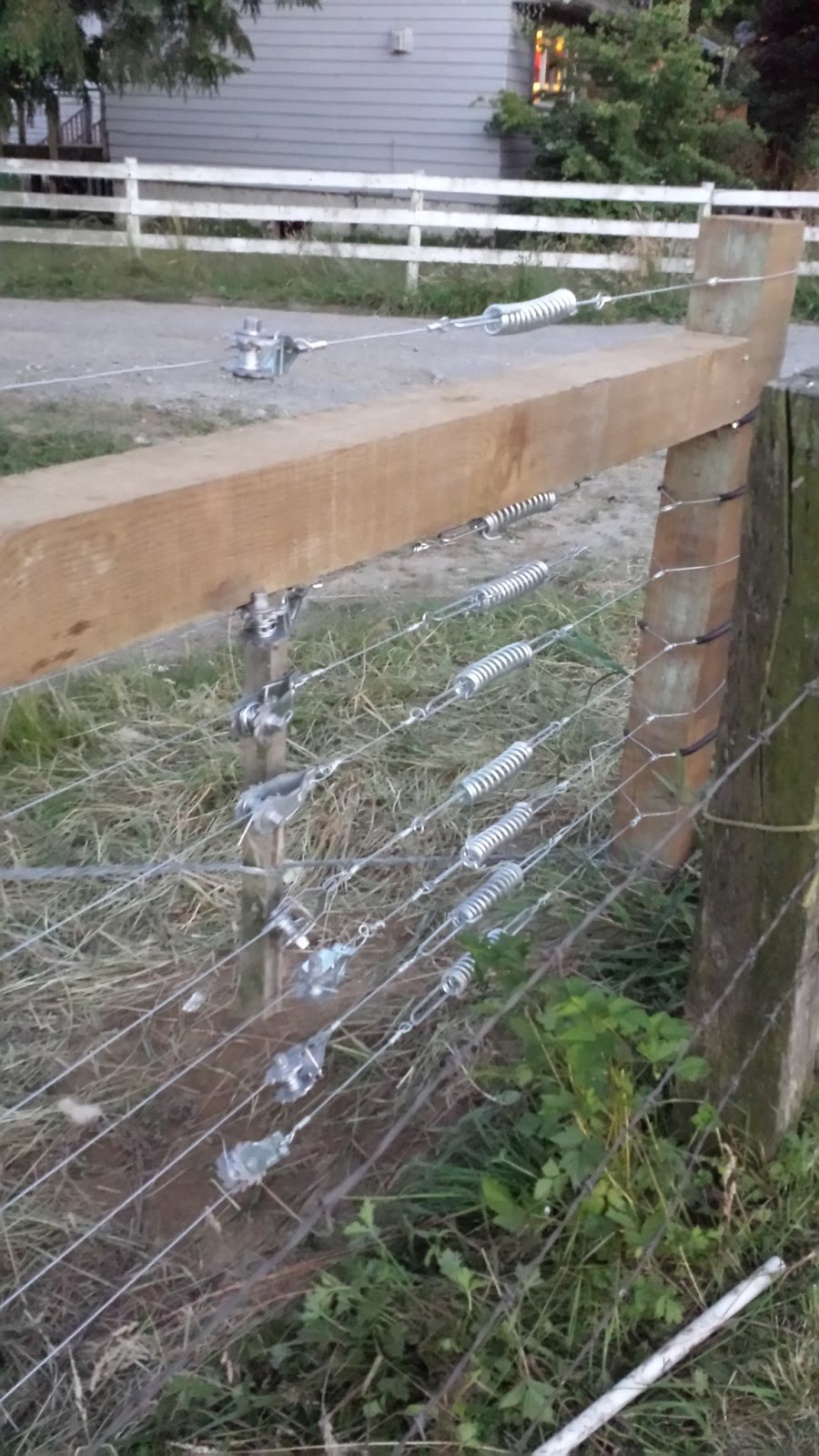 meat: High tensile fencing