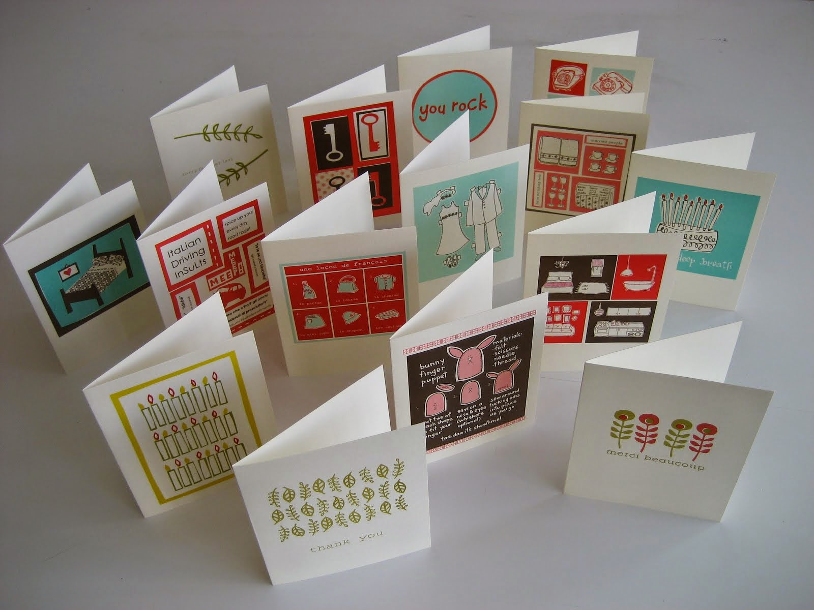 greeting cards on etsy