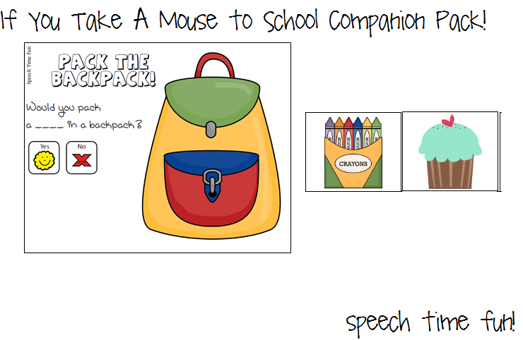 Printables If You Take A Mouse To School Worksheets if you take a mouse to school companion pack can access this in my tpt store by clicking here