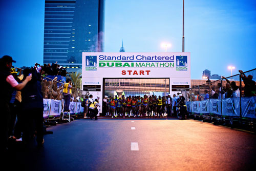 Standard Chartered Dubai Marathon 2012