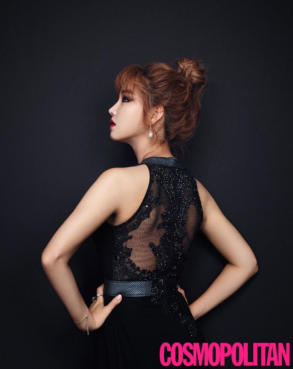 Lee Yoo Ri - Cosmopolitan Magazine December Issue 2014