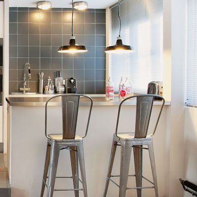 Taburete tolix kansei cocinas servicio profesional de dise o y decoraci n de cocinas - Taburetes de diseno para cocina ...