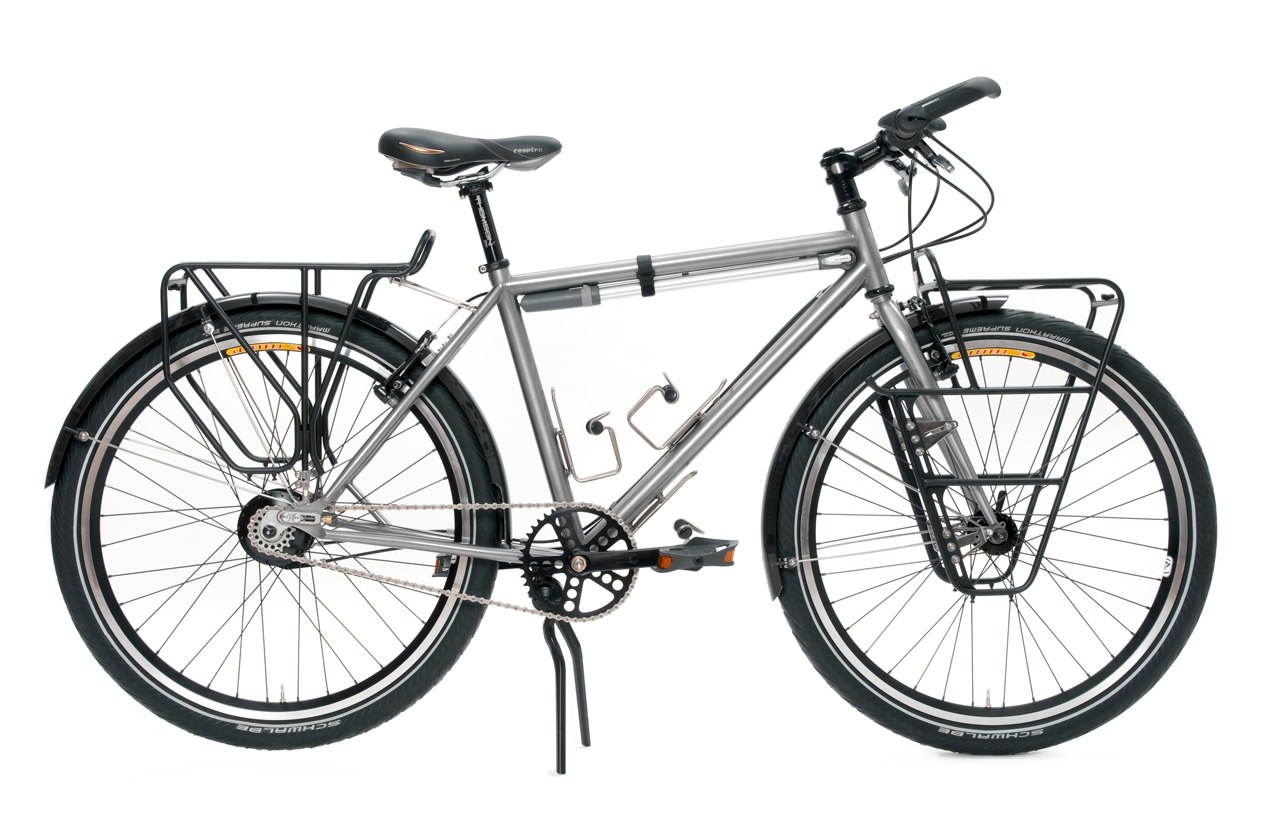 The Monkey Lab: Rohloff-equipped Independent Fabrication Touring Bike
