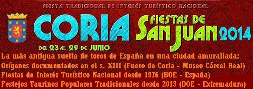 Sanjuanes de Coria 2014