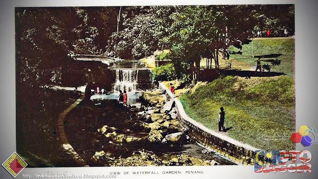 Kenangan lalu : Waterfall Garden, Penang