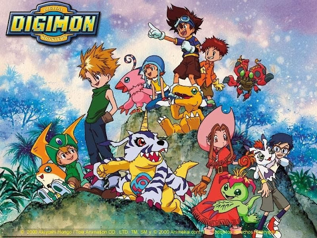 Digimon 1 Latino [54/54][MEGA]