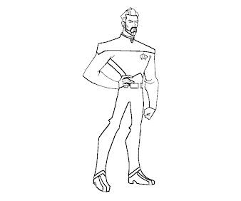 #6 Star Trek Coloring Page