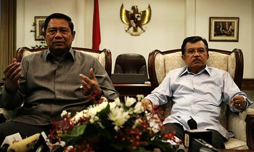 Foto SBY : Jusuf Kalla