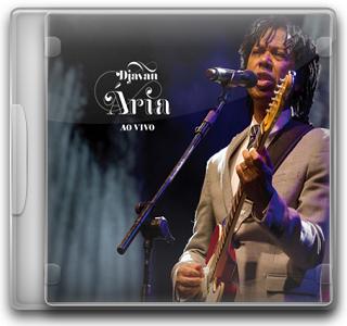 Capa CD Djavan – Ária Ao Vivo (2011)